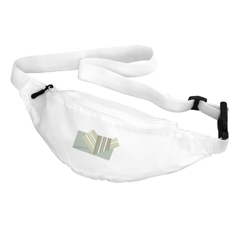 yacocoの帯柄 緑系 Belt Bag