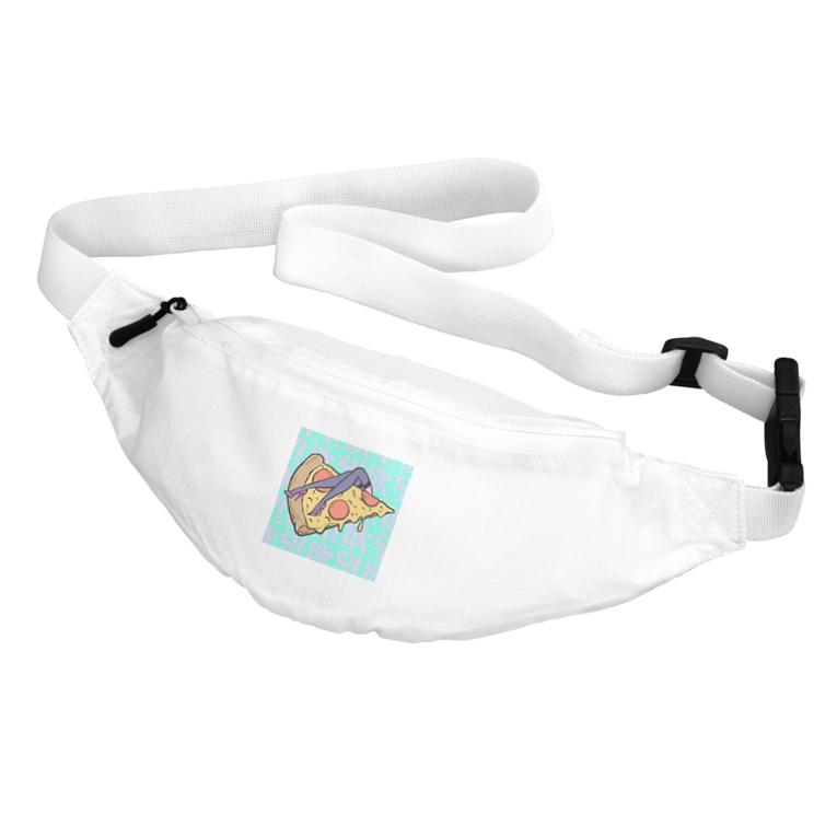 Mieko_Kawasakiの欲望のピザ🍕 GUILTY PLEASURE PIZZA HIGH HEEL Belt Bag