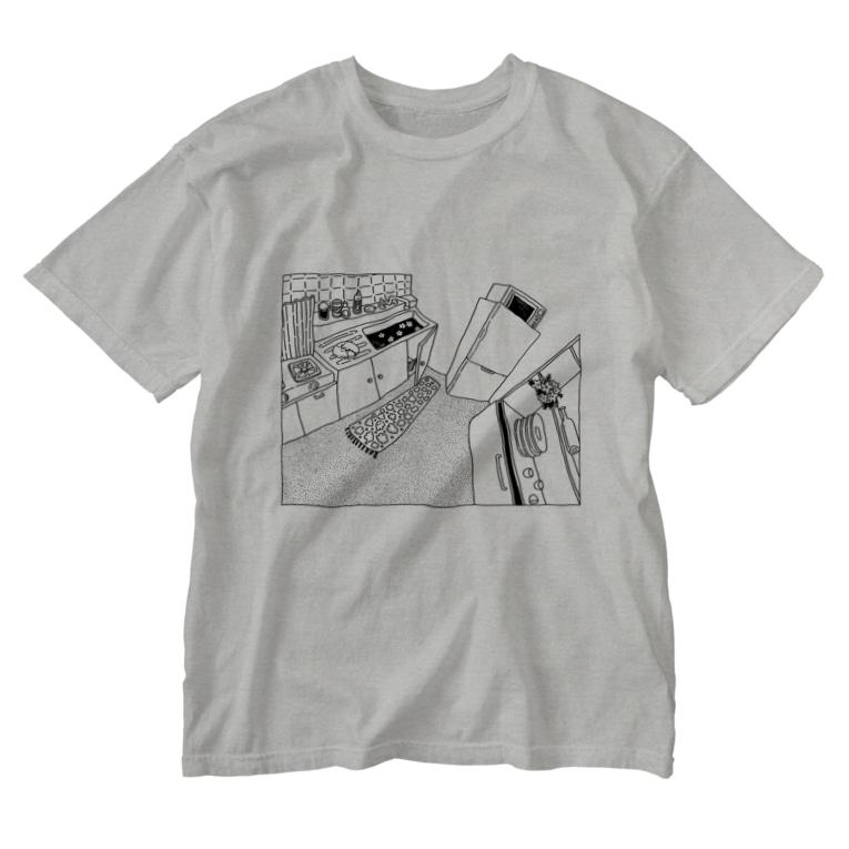 👻📗のかもめC-Tシャツ Washed T-shirts