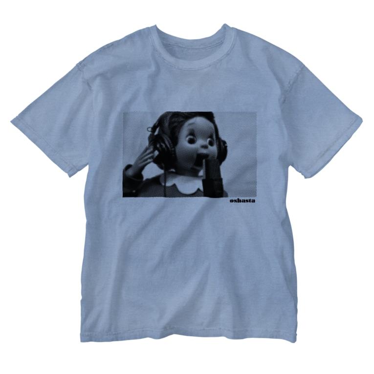 ゾフィー、それいけ!おしゃべりスターのおしゃスタふくちゃんTシャツ Washed T-shirts