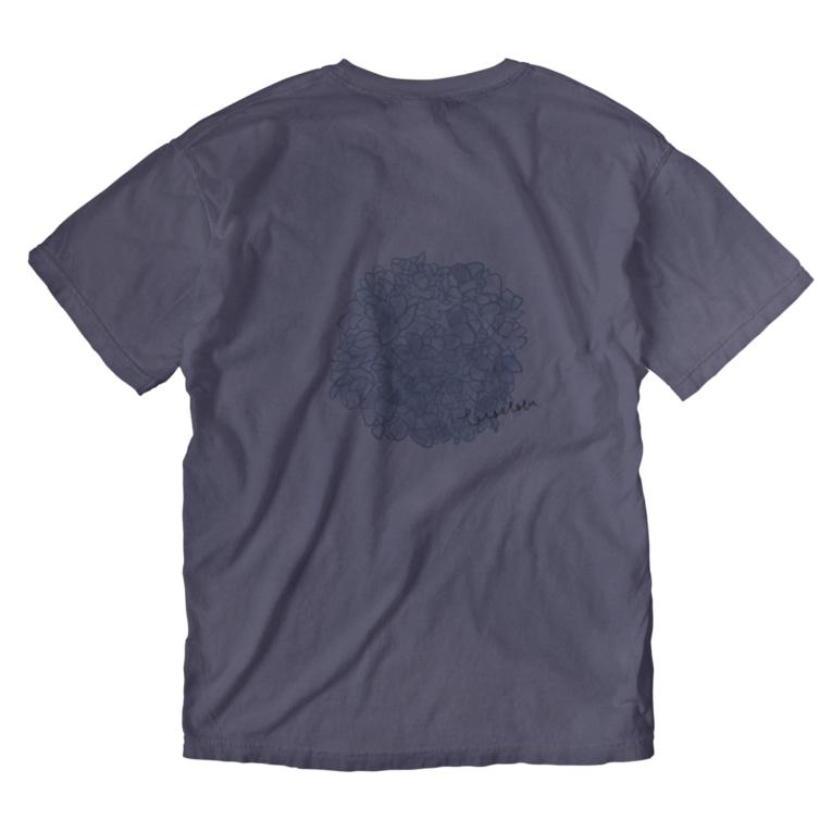 rilybiiの紫陽花 Washed T-shirts