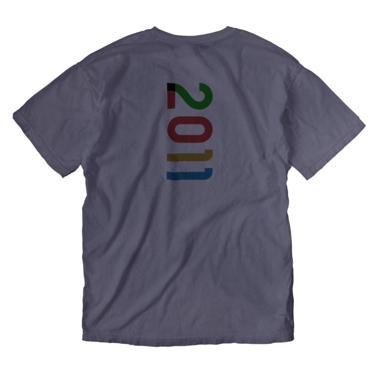 marikiroの2011_西暦 Washed T-shirts
