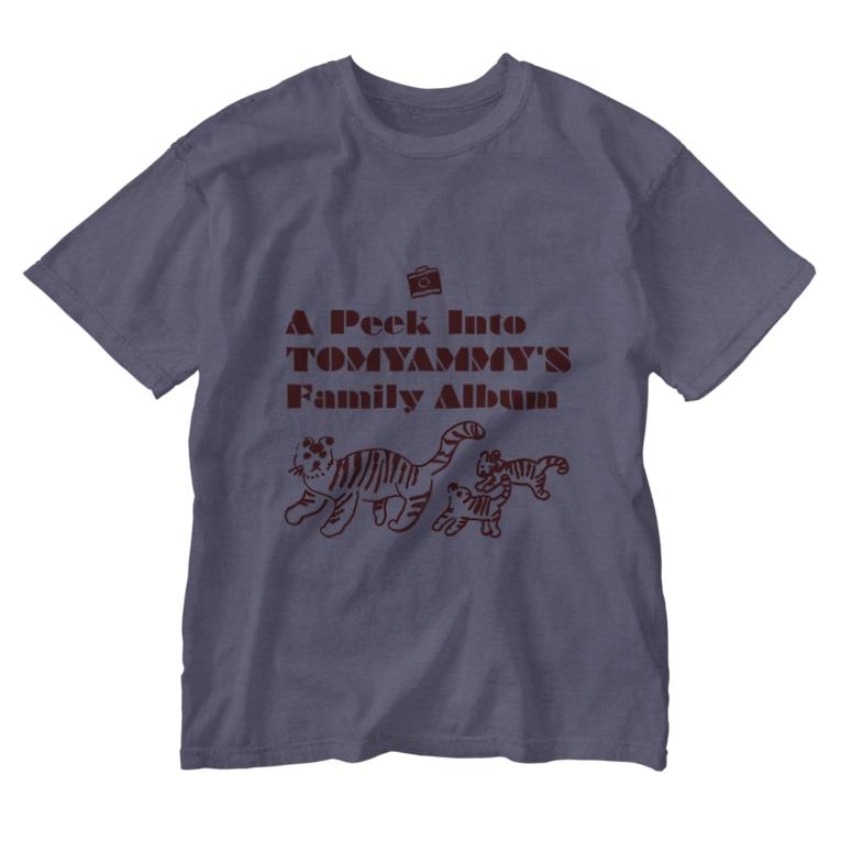 tomyam_myのとらの親子 Washed T-shirts