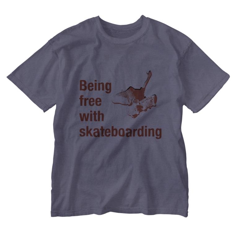 TATEYAMAのskateboard Washed T-shirts