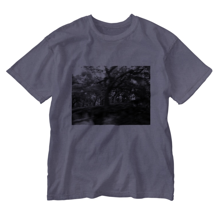 CTRL shopの今回混雑膨らむ This time the crowd swells Washed T-shirts
