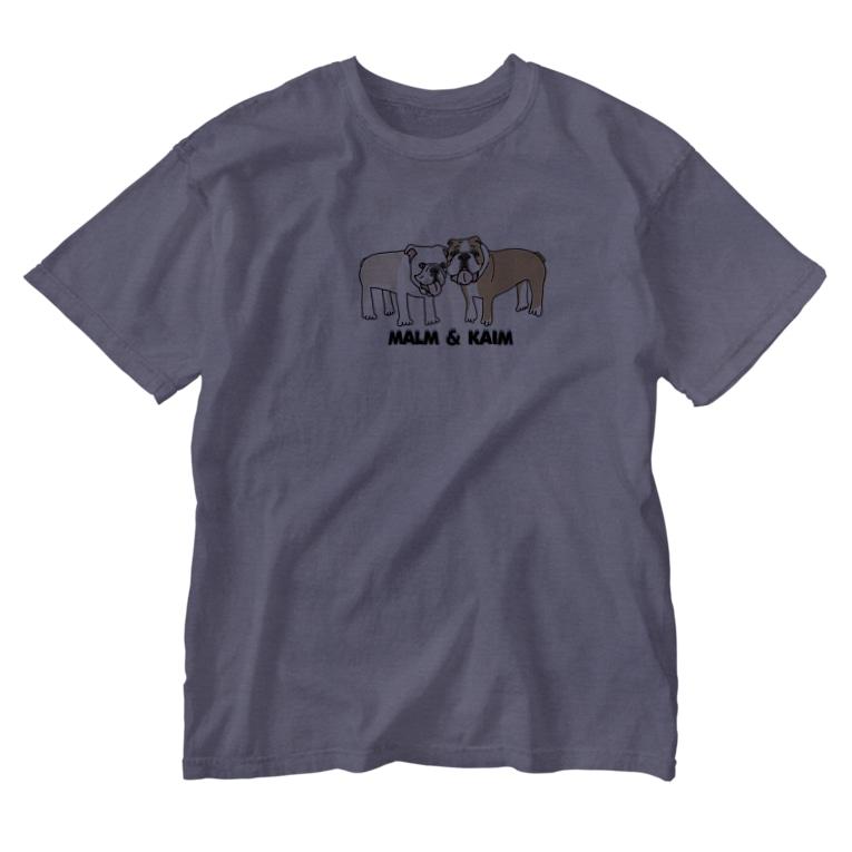 maroco's roomのマルムとカイム Washed T-shirts
