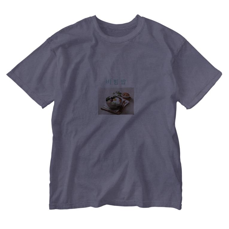 korea sleeperのビビンバセット Washed T-shirts