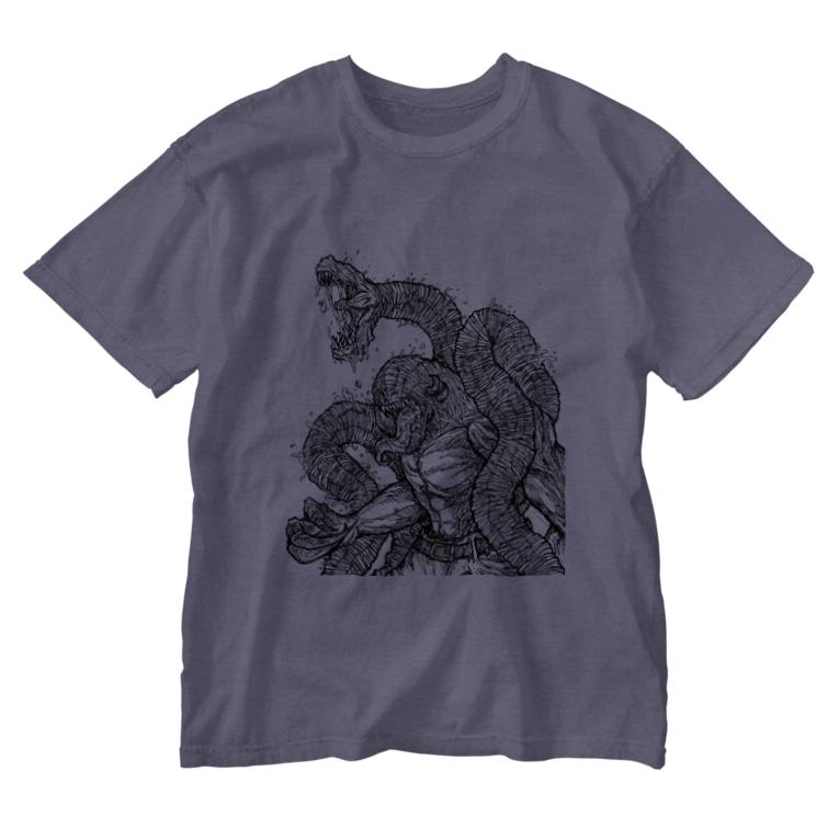 Buffys Movie キャラクター事業部のBuffys Movie クリーチャー:グローリー Washed T-shirts