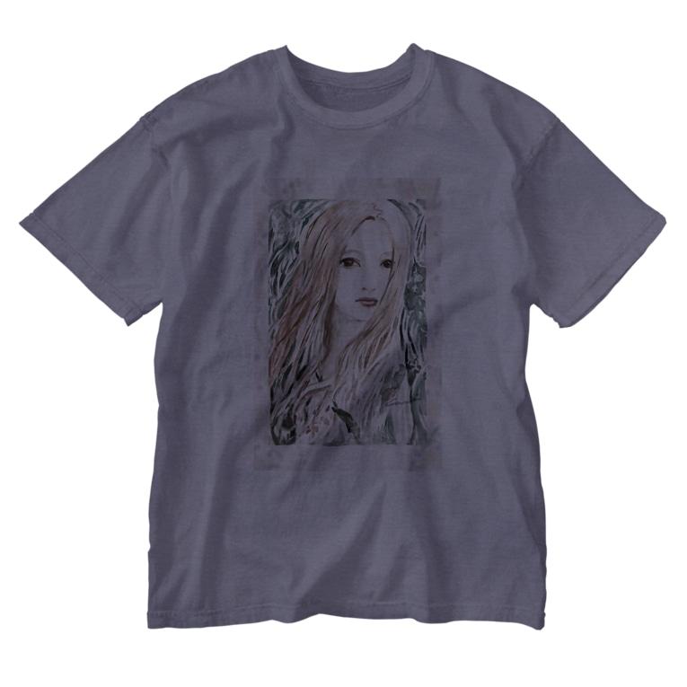 coaiの花と女の子スペシャル Washed T-shirts