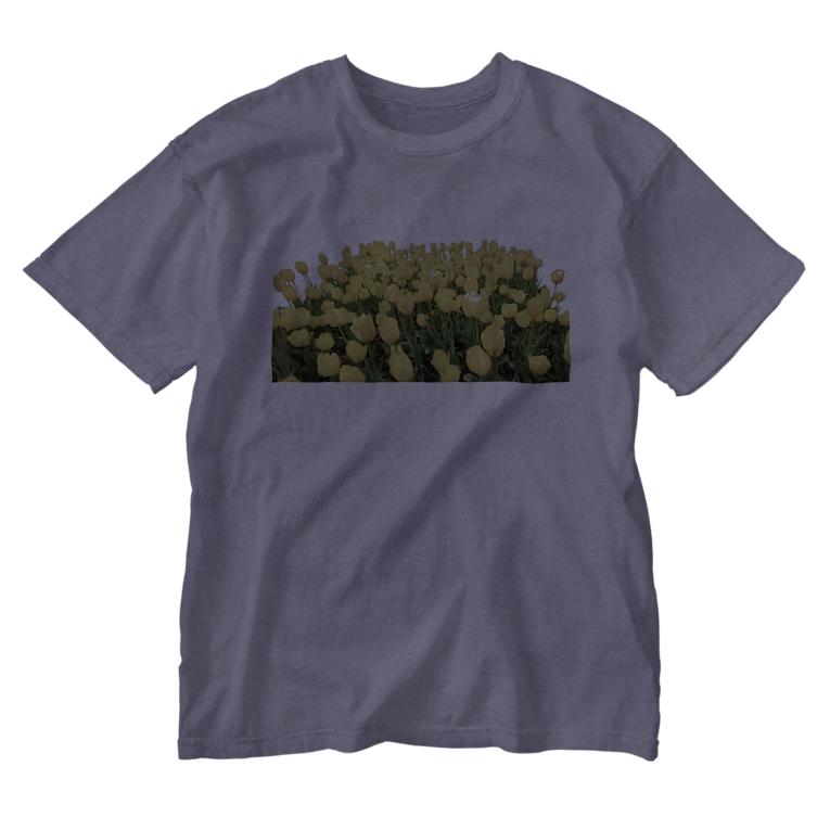 ニムニムのお部屋のきいろい ちうりっぷ Washed T-shirts