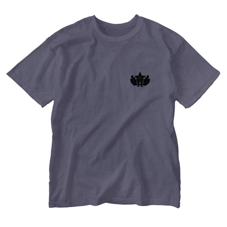 puikkoの大日本帝国陸軍近衛師団帽章(ワンポイント 黒) Washed T-Shirt
