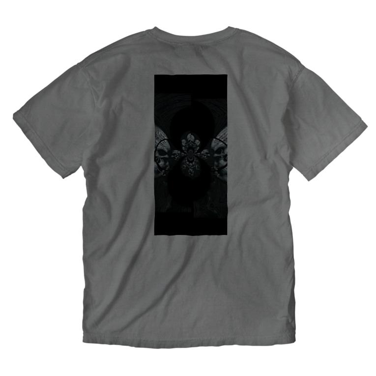 RMk→D (アールエムケード)のカタコンベ Washed T-shirtsの裏面