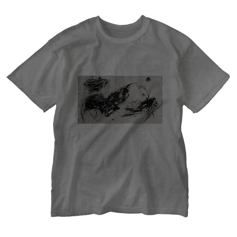 CTRL shopのsuiboku Washed T-shirts