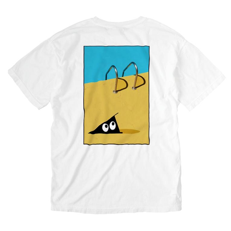 忍者スリスリくんのPOOL SIDE Washed T-shirts