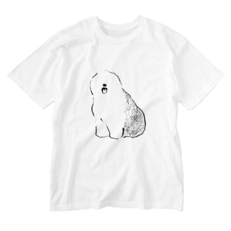 It is Tomfy here.のもっさりオールド Washed T-shirts