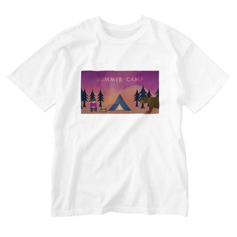 Slow TypingのSUMMER CAMP サマーキャンプ 189 Washed T-shirts