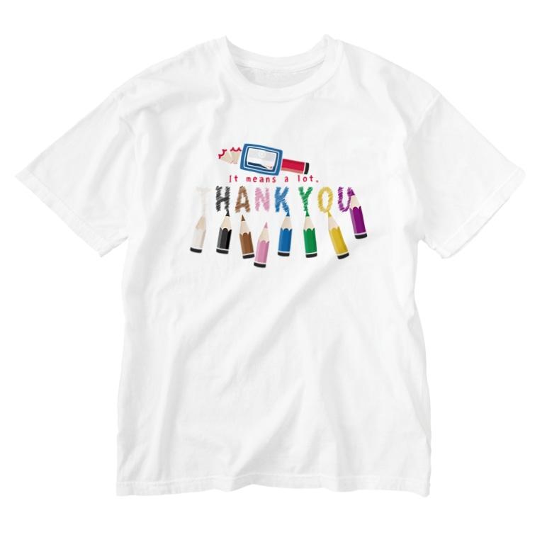 *suzuriDeMONYAAT*のCT155 ちびた色鉛筆*A Washed T-Shirt