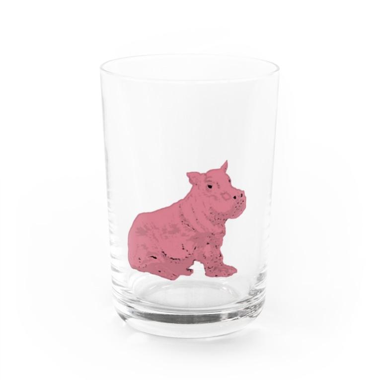 aya aceのHIPPO Water Glass