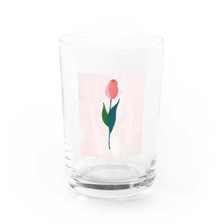 miie.(みー)のチューリップ Water Glass