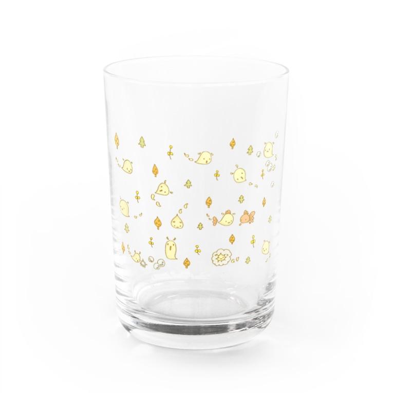 Savon sheep のしゃぼん玉ぷちんがいっぱい。 Water Glass