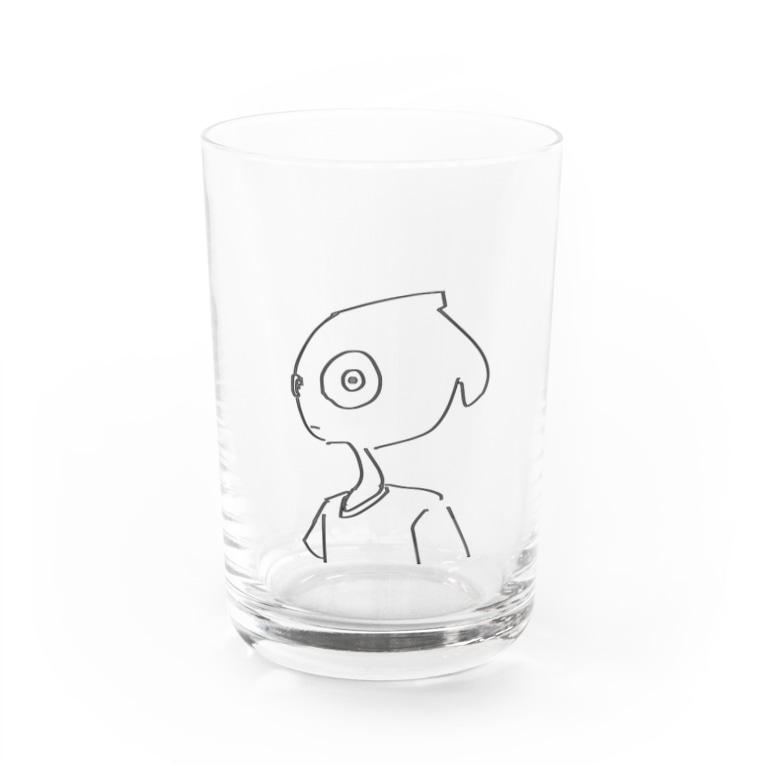 toba_の見んな^_^、 Water Glass