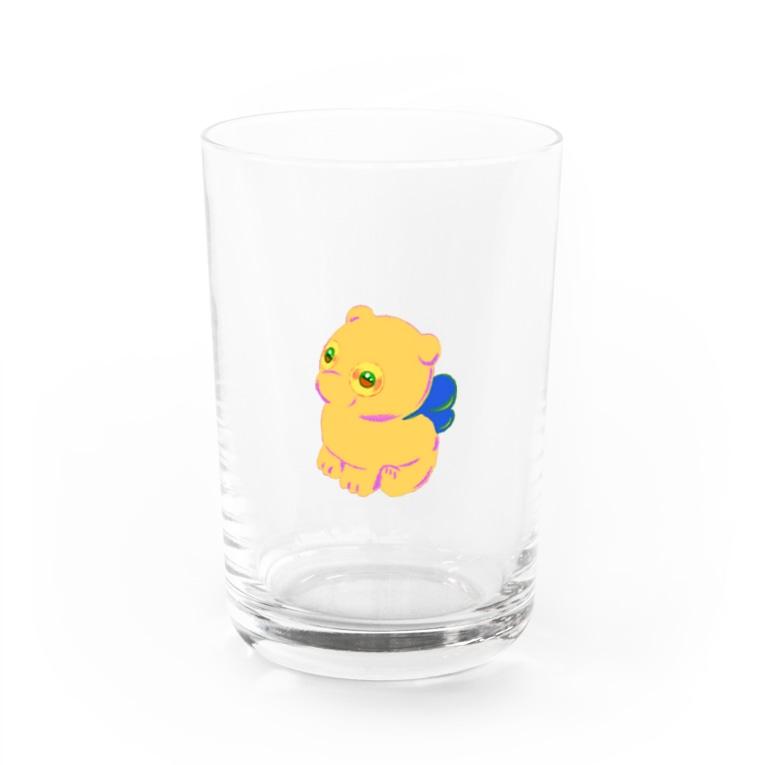 かいがんマートのよつあしa Water Glass