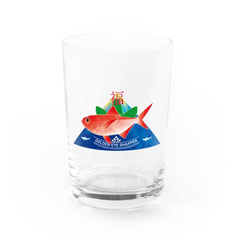 kite_29の金目福 Water Glass