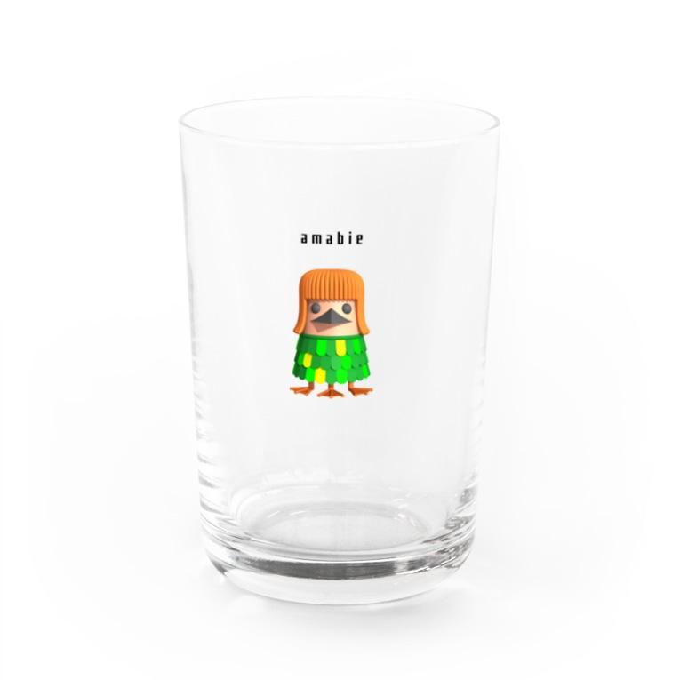 hozdesignのアマビエ3939 Water Glass