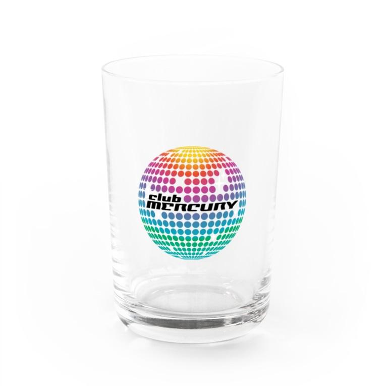 club MERCURYのミラーボールグラス Water Glass
