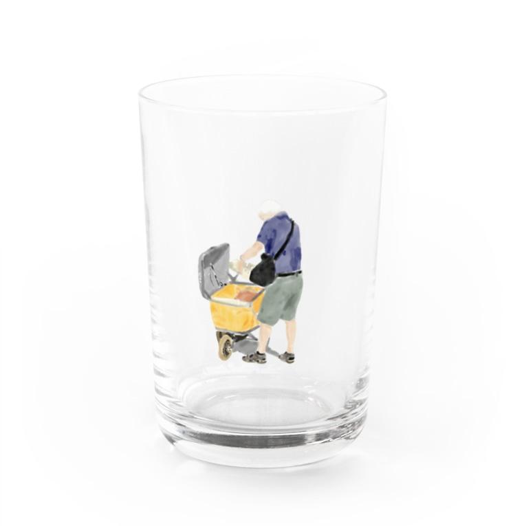 Olu 'OluのPost man Water Glass