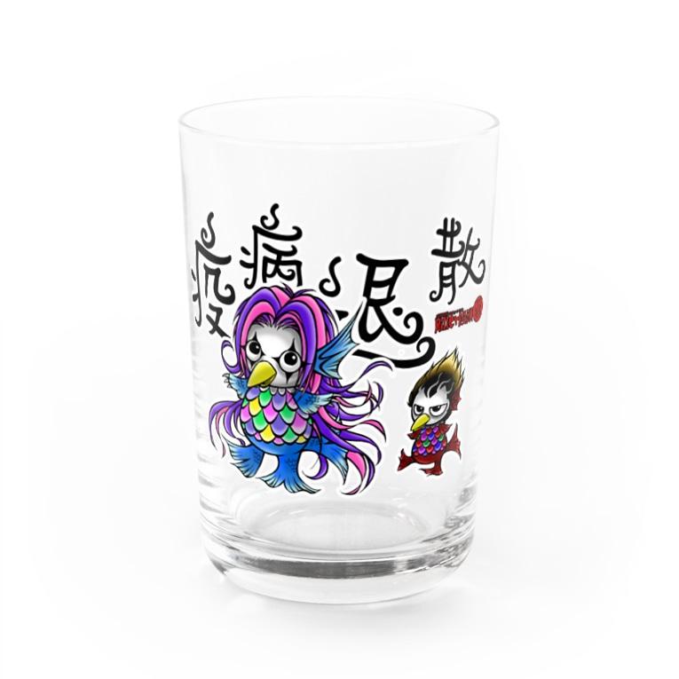 暗蔵喫茶Killer饅頭のキラマンあまびえちゃんズ Water Glass
