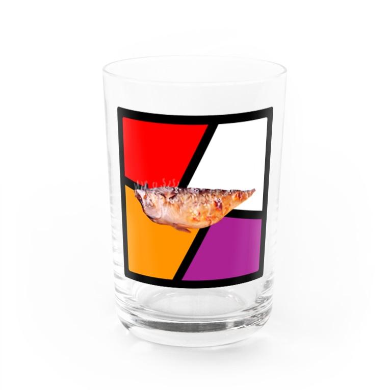 kiurashimatarouの塩サバ Water Glass