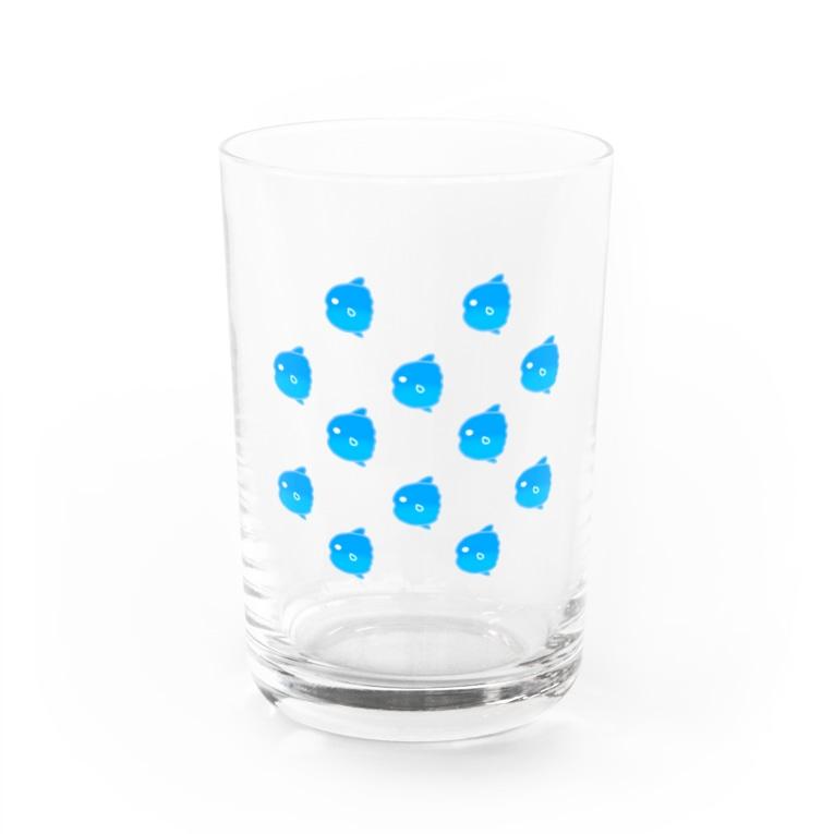 ゆめむすびののほほんマンボウの群れ Water Glass