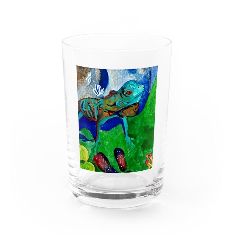 駄菓子工房のtokage Water Glass