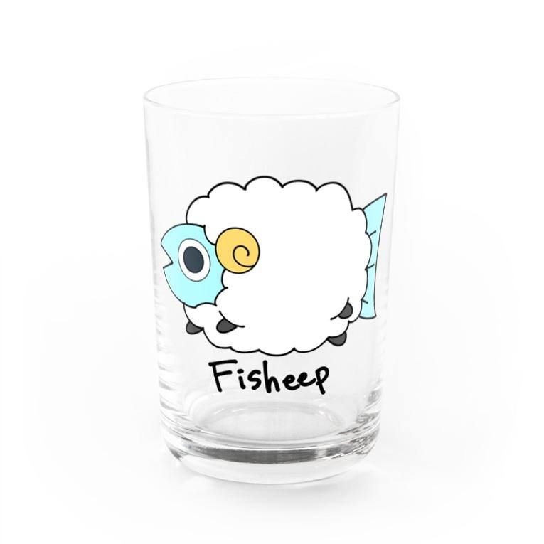 aritakujiraのサカナヒツジ Water Glass