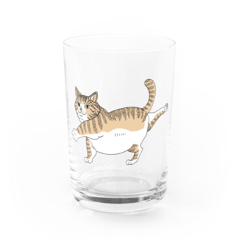 OGNdesignの猫 ねこ NO.34 Water Glass