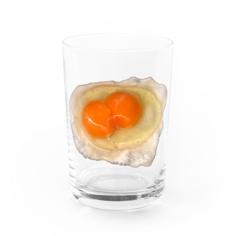 Sonomuraのにこタマ Water Glass