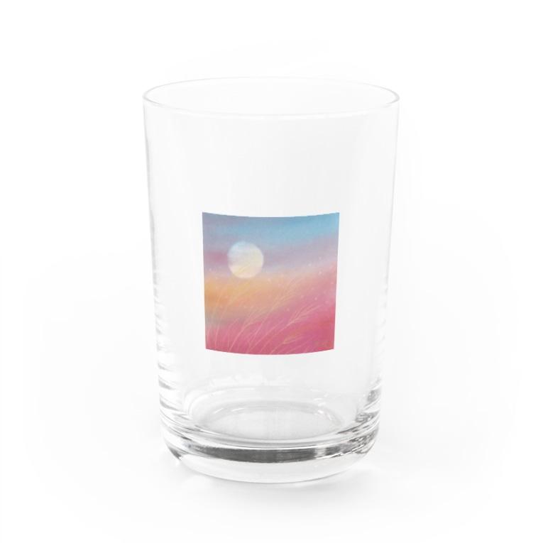 Fumiko💫の夕焼け色 Water Glass