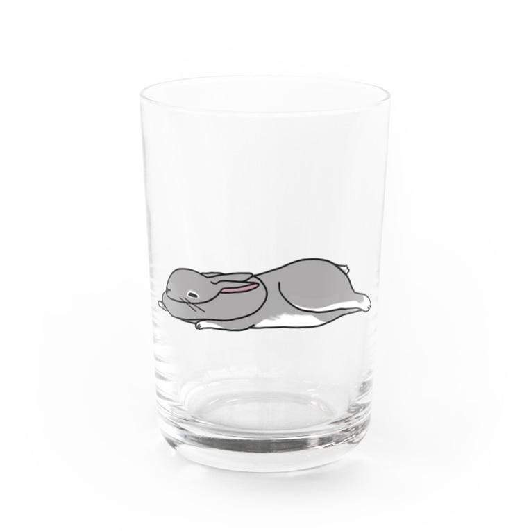 とろみアニマルのとろみウサギ Water Glass