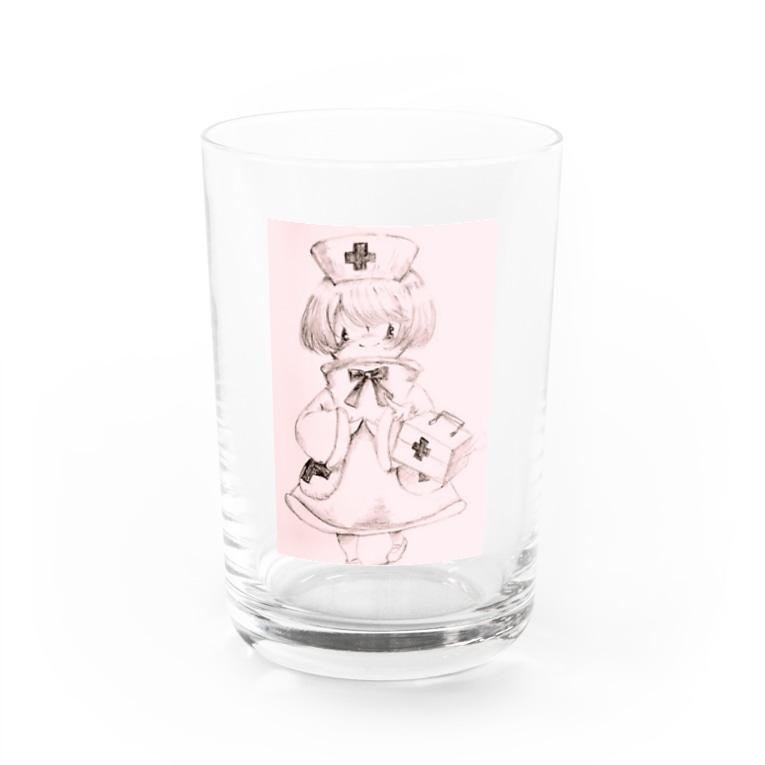 心の在り処のナースちゃん Water Glass