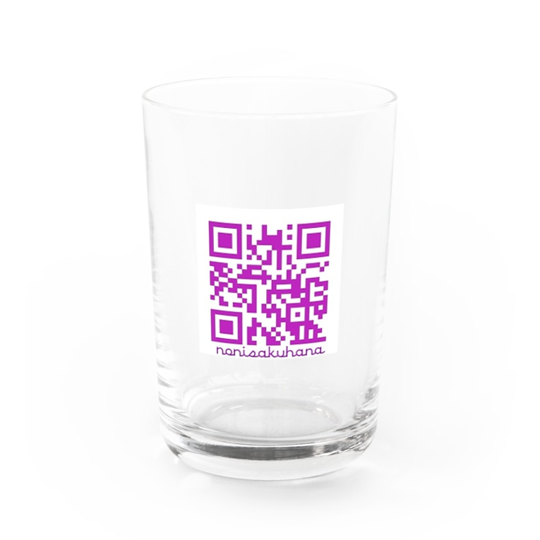 nonisakuhanartのノニサクQRコード Water Glass