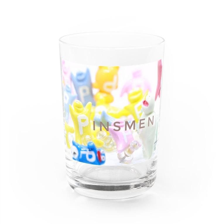 岡本なう - okamoto now -のピンズMen(ぴんずめん・PinsMen) Water Glass