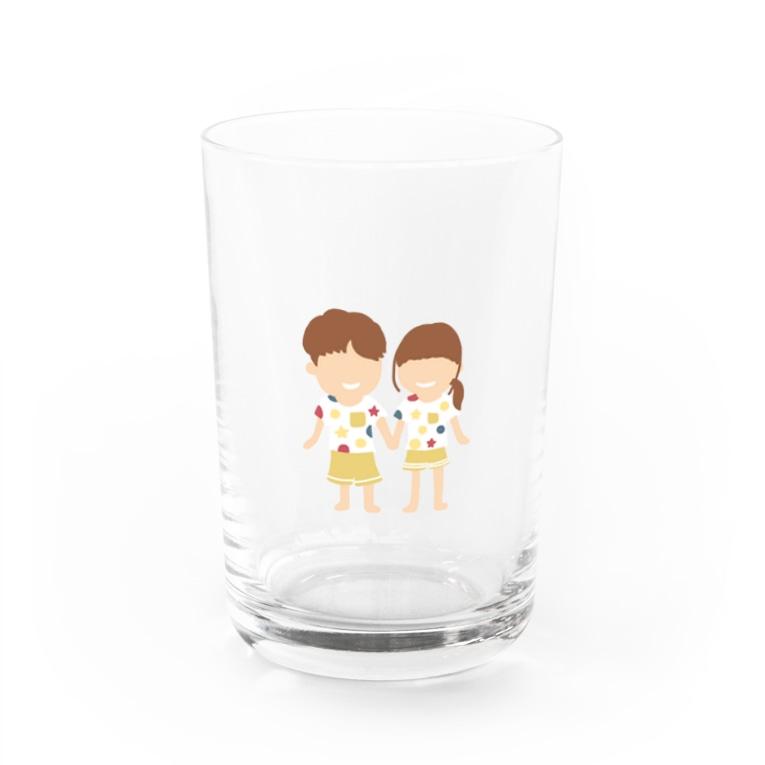 Soragasukiのカップル Water Glass