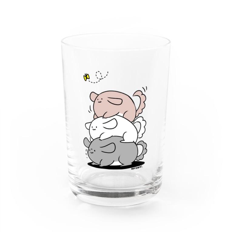 ne*muiの積みチラ(ゆるチラ) Water Glass
