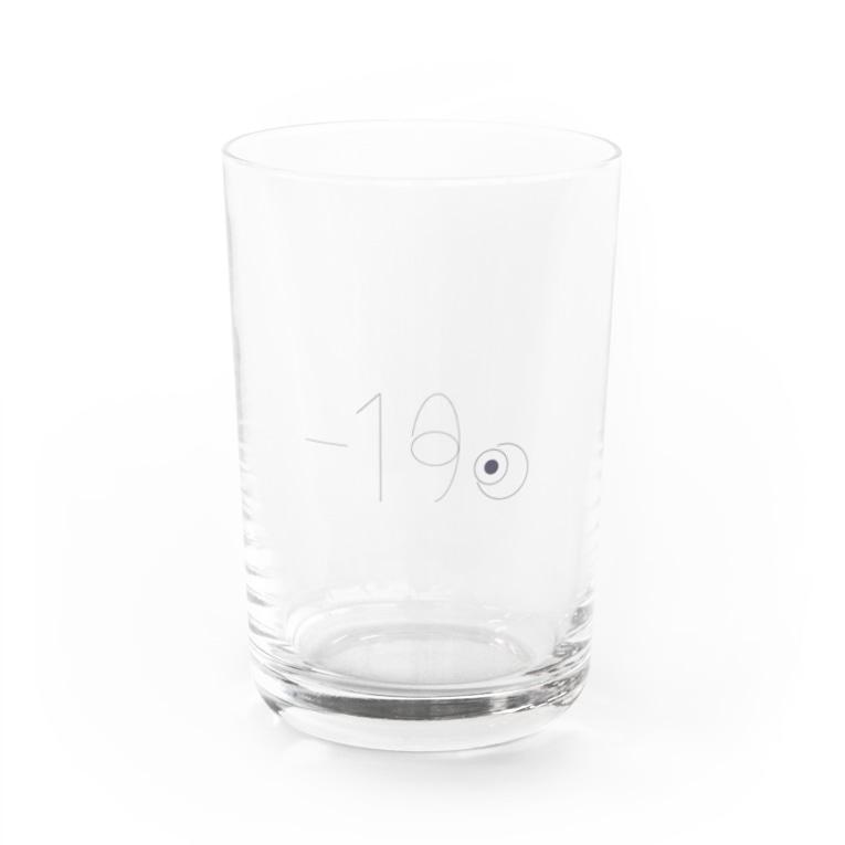 A X u / 亜 素の「-19℃」グラス Water Glass