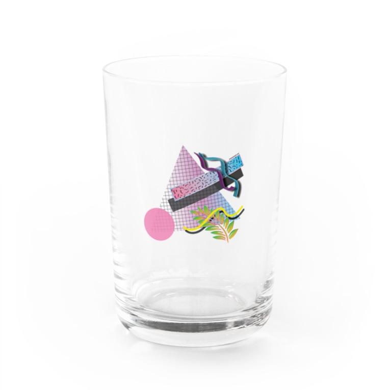 SAD BOYS CLUBのVAPORWAVE ART Water Glass