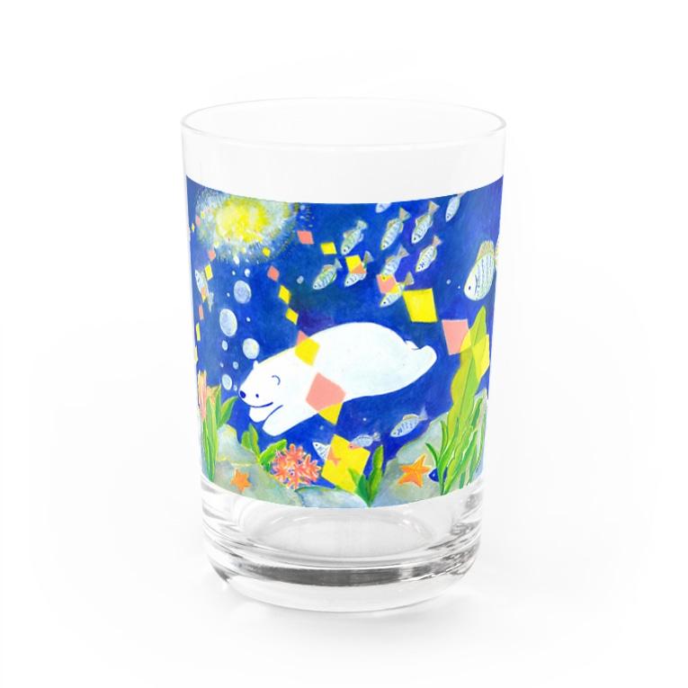 azu.shopの海の中 Water Glass