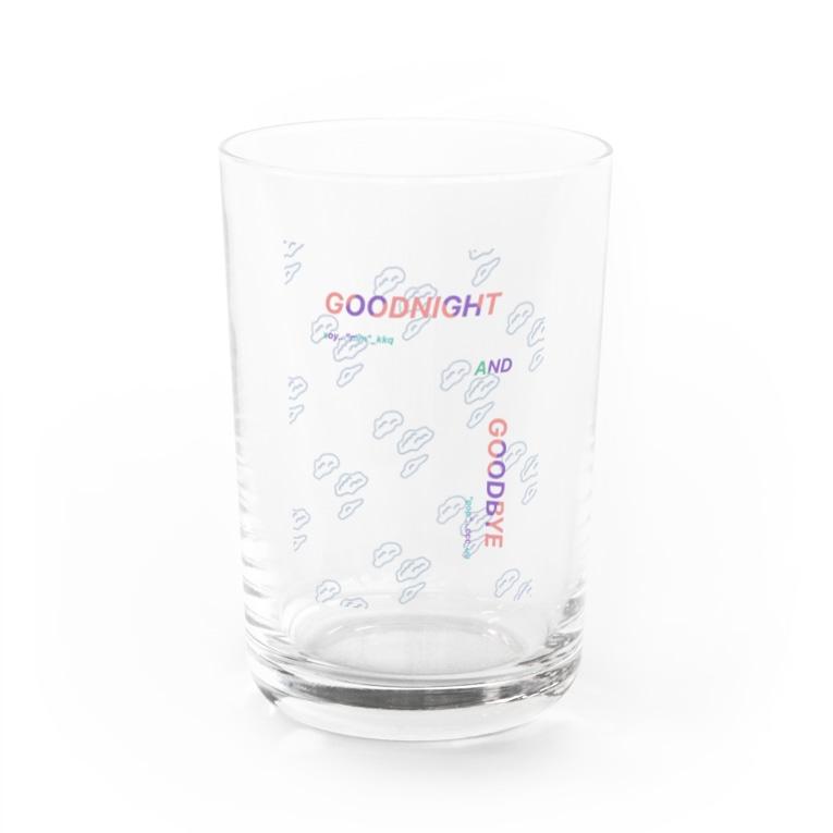 QB🦖のG&B_cld:wht Water Glass