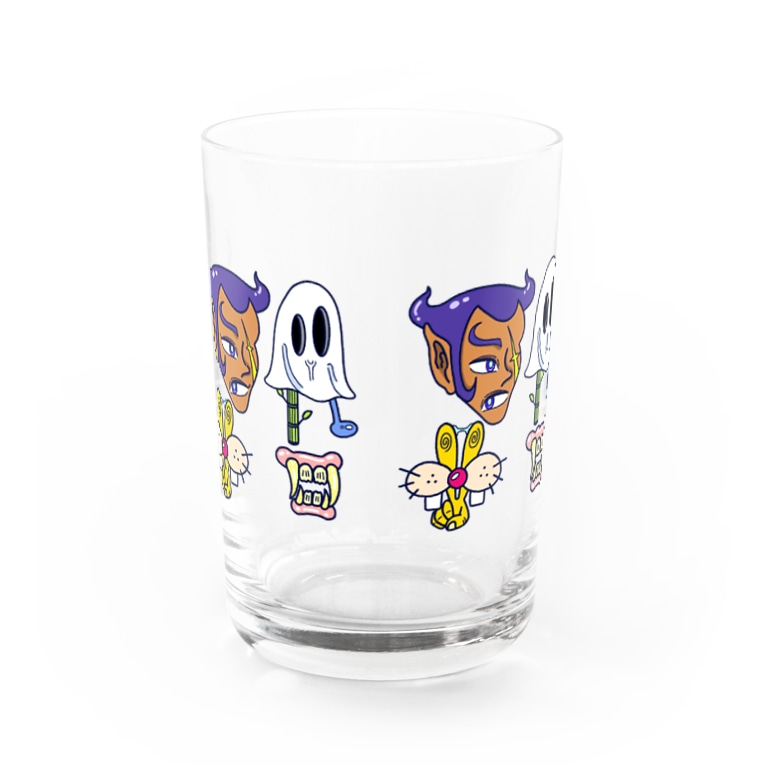 TAACHI illustrationのまちがいさがし② Water Glass