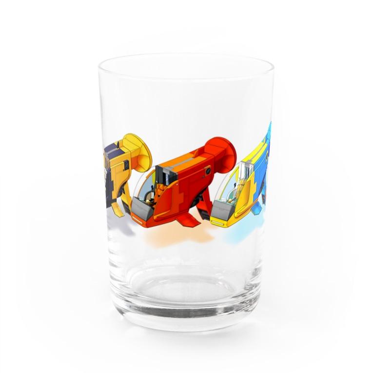PoooompadoooourのGUPPY(3色) Water Glass
